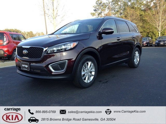 new 2016 kia sorento lx sport utility in gainesville k18543 carriage kia. Black Bedroom Furniture Sets. Home Design Ideas