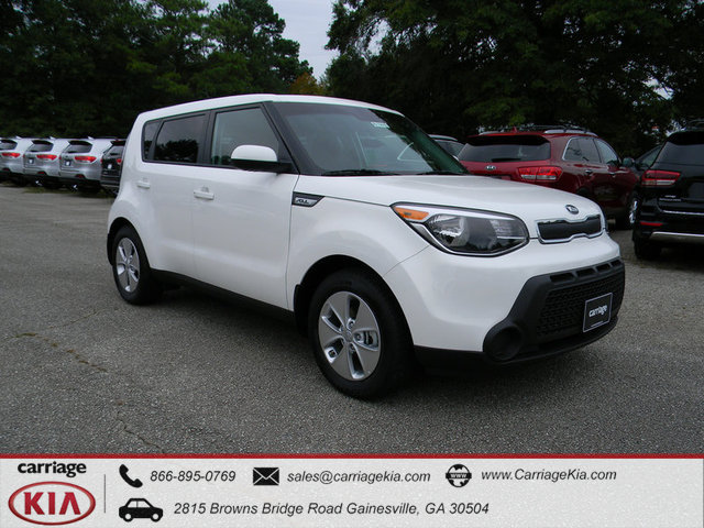 new 2016 kia soul base 5 dr wagon in gainesville k21435 carriage kia. Black Bedroom Furniture Sets. Home Design Ideas
